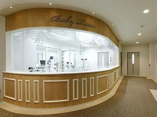 新生児室の写真